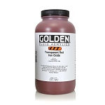 Golden Fluid Acrylic Transparent Red Iron Oxide 32 oz