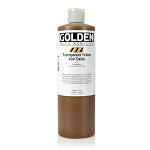 Golden Fluid Acrylic Transparent Yellow Iron Oxide 16 oz