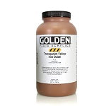 Golden Fluid Acrylic Transparent Yellow iron Oxide 32 oz