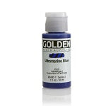 Golden Fluid Acrylic Ultramarine Blue 1 oz