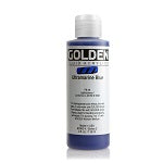 Golden Fluid Acrylic Ultramarine Blue 4 oz