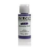 Golden Fluid Acrylic Ultramarine Violet 1 oz