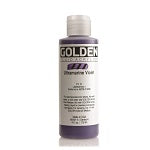 Golden Fluid Acrylic Ultramarine Violet 4 oz