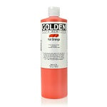 Golden Fluid Acrylic Vat Orange 16 oz