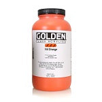Golden Fluid Acrylic Vat Orange 32 oz