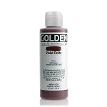 Golden Fluid Acrylic Violet Oxide 4 oz