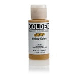 Golden Fluid Acrylic Yellow Ochre 1 oz
