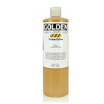 Golden Fluid Acrylic Yellow Ochre 16 oz