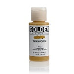 Golden Fluid Acrylic Yellow Oxide 1 oz