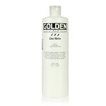 Golden Fluid Acrylic Zinc White 16 oz