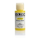 Golden Fluid Acrylic Primary Yellow 1 oz