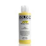 Golden Fluid Acrylic Primary Yellow 4 oz