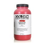 Golden Fluid Acrylic Cadmium Red Medium Hue 32 oz