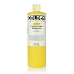 Golden Fluid Acrylic Cadmium Yellow Medium Hue 16 oz