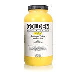 Golden Fluid Acrylic Cadmium Yellow Medium Hue 32 oz