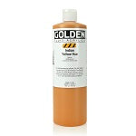 Golden Fluid Acrylic Indian Yellow Hue 16 oz