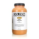 Golden Fluid Acrylic Indian Yellow Hue 32 oz