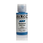 Golden Fluid Acrylic Manganese Blue Hue 1 oz