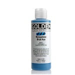 Golden Fluid Acrylic Manganese Blue Hue 4 oz