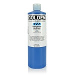 Golden Fluid Acrylic Manganese Blue 16 oz
