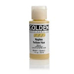 Golden Fluid Acrylic Naples Yellow Hue 1 oz