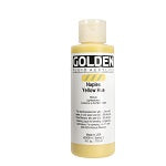 Golden Fluid Acrylic Naples Yellow Hue 4 oz
