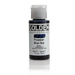 Golden Fluid Acrylic Prussian Blue Hue 1 oz