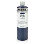 Golden Fluid Acrylic Prussian Blue Hue 16 oz