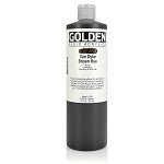 Golden Fluid Acrylic Van Dyke Brown Hue 16 oz