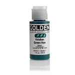 Golden Fluid Acrylic Viridian Green Hue 1 oz