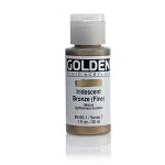 Golden Fluid Acrylic Iridescent Bronze (fine) 1 oz