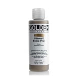 Golden Fluid Acrylic Iridescent Bronze (fine) 4 oz