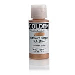 Golden Fluid Acrylic Iridescent Copper Light (fine) 1 oz