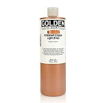 Golden Fluid Acrylic Iridescent Copper Light (fine) 16 oz