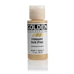 Golden Fluid Acrylic Iridescent Gold (fine) 1 oz