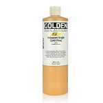Golden Fluid Acrylic Iridescent Bright Gold (fine) 16 oz