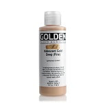 Golden Fluid Acrylic Iridescent Gold Deep (fine) 4 oz