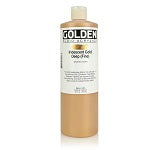 Golden Fluid Acrylic Iridescent Gold Deep (fine) 16 oz