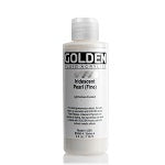 Golden Fluid Acrylic Iridescent Pearl (fine) 4 oz