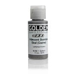 Golden Fluid Acrylic Iridescent Stainless Steel 1 oz