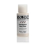 Golden Fluid Acrylic Interference Red (fine) 1 oz