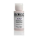 Golden Fluid Acrylic Interference Violet (fine) 1 oz