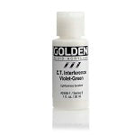 Golden Fluid Acrylic Interference C.T. Violet-Green 1 oz
