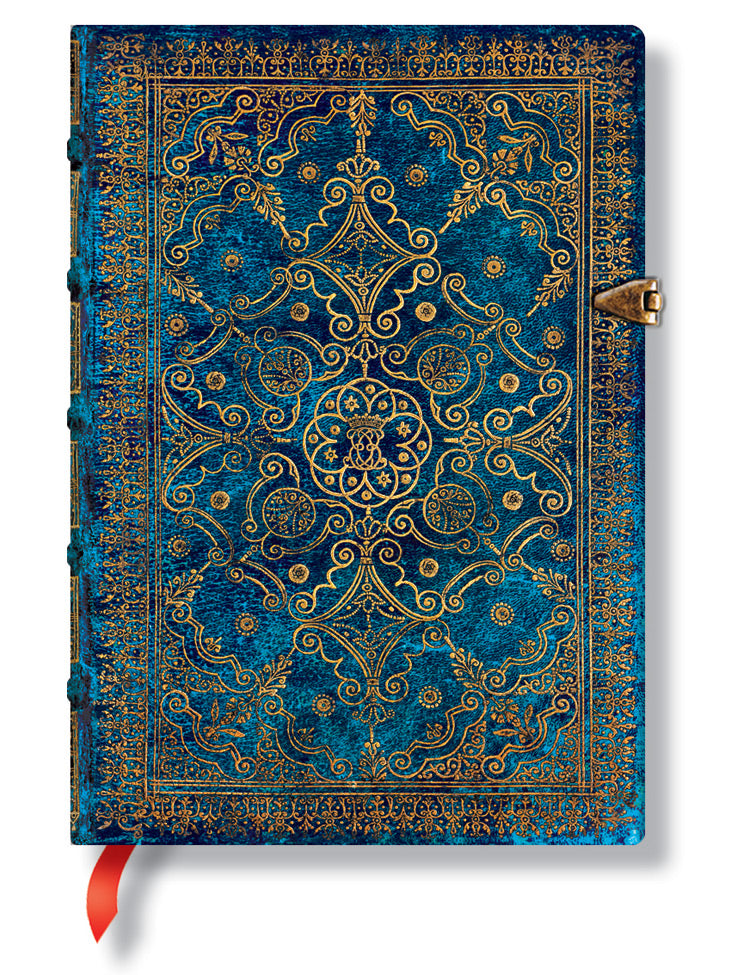 "Paperblanks Journal - Equinoxe Azure Midi Unlined 5"" X 7"""