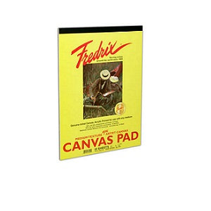 Fredrix Real Canvas Pad 10X12
