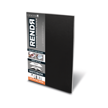 "RENDR Soft-Cover Lay-Flat Sketchbooks 3.5"" X 5.5"""
