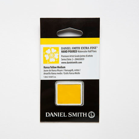 Daniel Smith Extra Fine Watercolor Half Pan - Hansa Yellow Medium