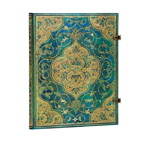 "Paperblanks Turquoise Chronicles Ultra 7""x 9"" Lined 144 page"