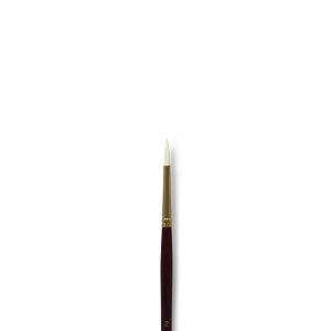 Connoisseur 2107 Pure Synthetic Bristle - Round  #2