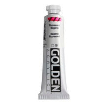 Golden Heavy Body Acrylic Fluorescent Magenta 2 oz